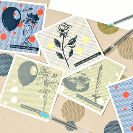 AuftragArbeit stellt hochwertige Grusskarten für Sie her.