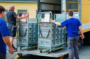 Dienstleistung Logistik & Versandhandel